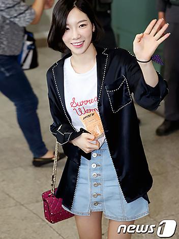 Celeb's pick Girl's generation Taeyun
