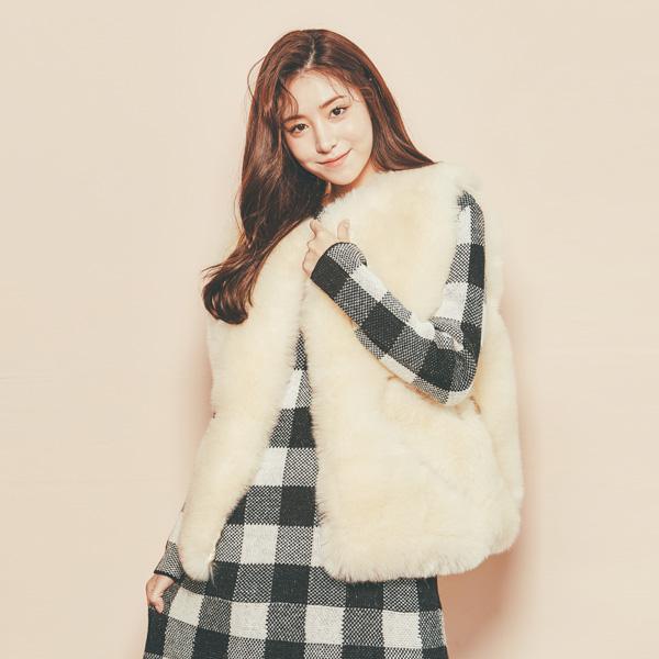 (VT-0042) Soft Fur Vest