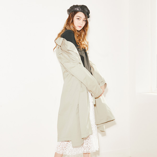 (CT-915) Oversized Trench Coat