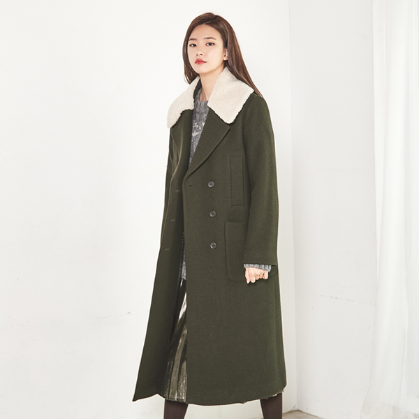 (CT-939) Fur Kara Long CoatS