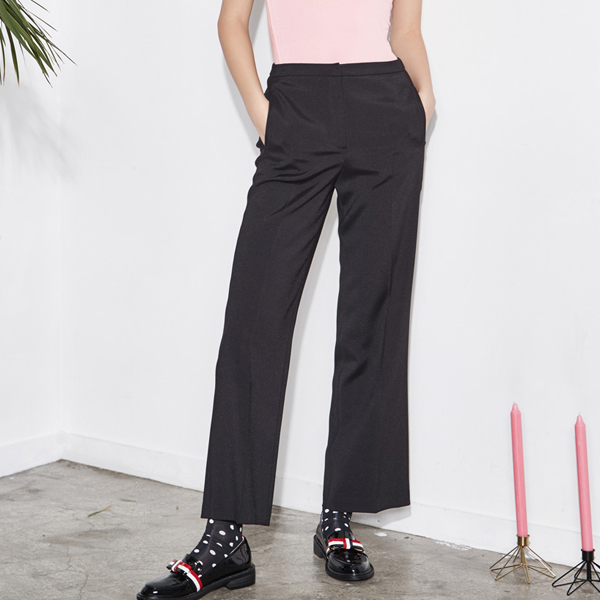 (PT-2801) minimal Straight Pants