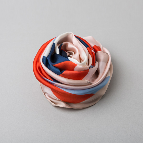 (ETC-2370) Color Mixed scarf