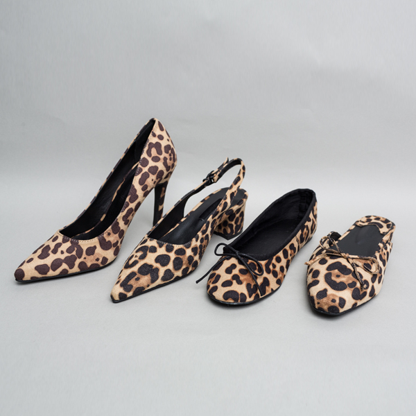 (SH-2495) Leopard Shoes