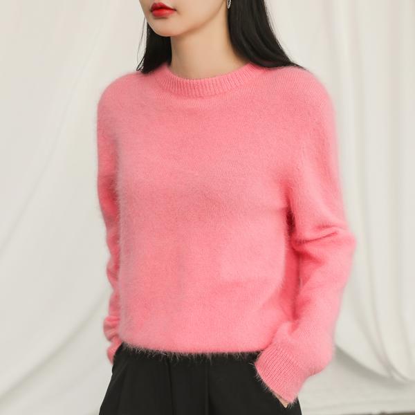 (T-4278) Soft Angora Knit