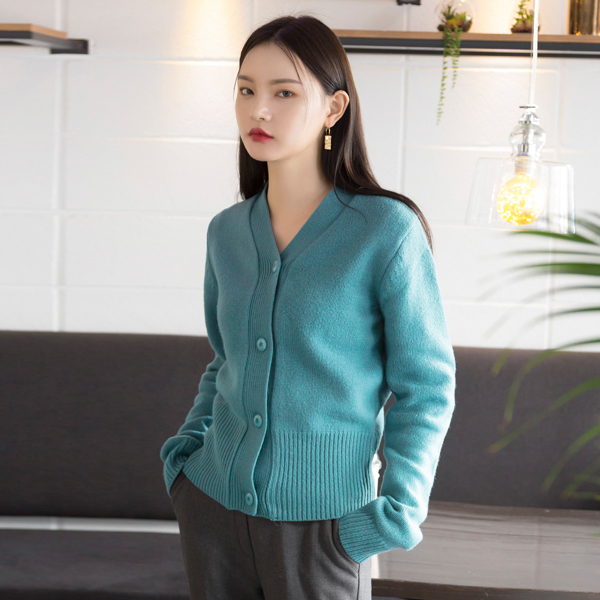 (CD-1236) Wool Daily Knit Cardigan