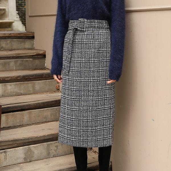 (SK-3034) Tweed Midi SkirtS