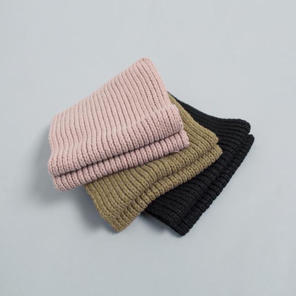 (ETC-2410) Soft Knitted Muffler