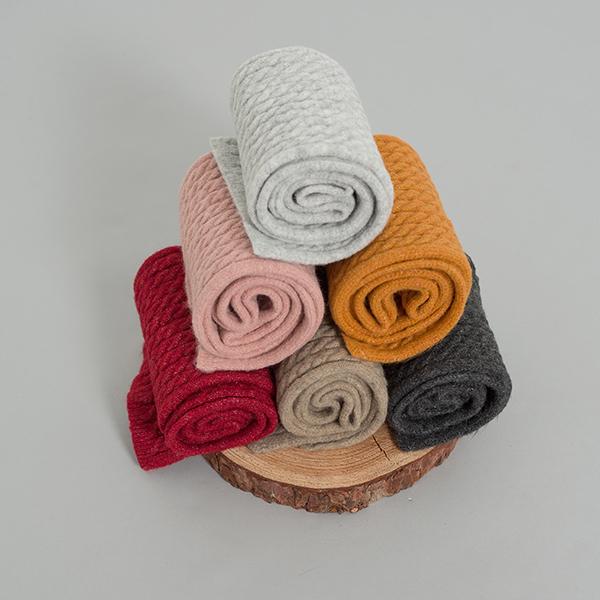 (ETC-2451) Cable Knit Mini Muffler