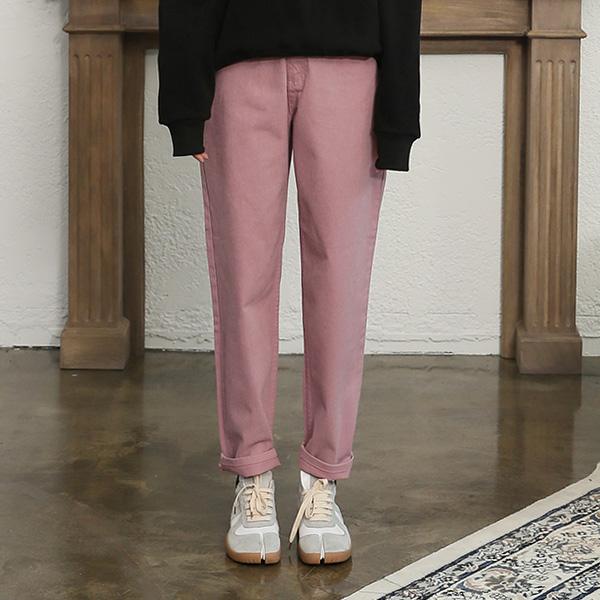 (PT-3636) Cotton Color Denim Pants