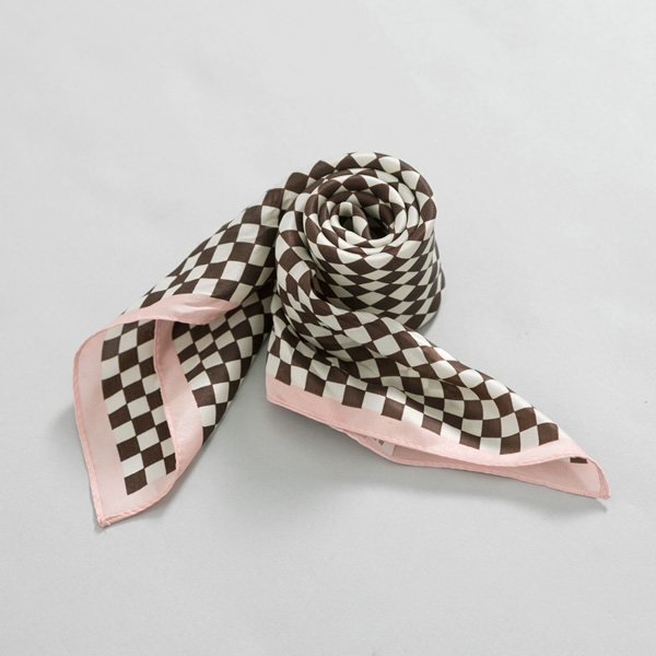 (ETC-2467) Chess Patterns Scarf