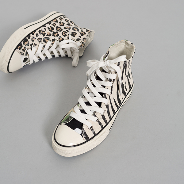 (SH-2577) unbalance Hightops Sneakers