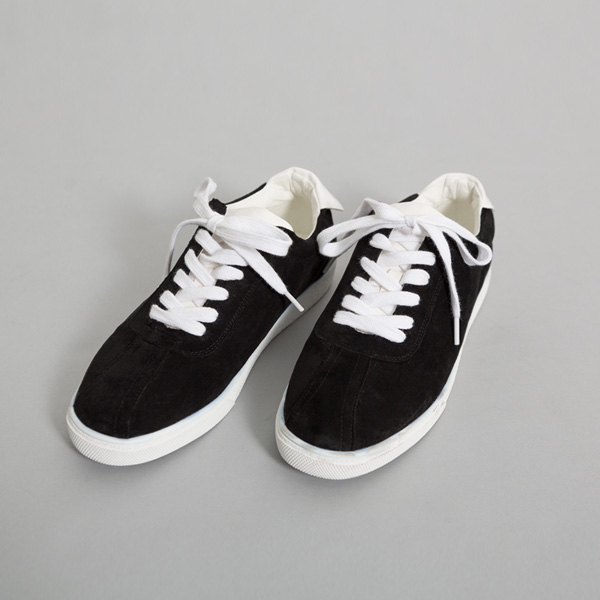 (SH-2590) Suede Casual Sneakers