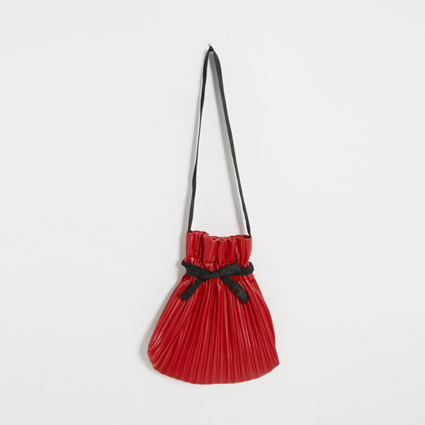 (B-1918) Pleats Shoulder Bag