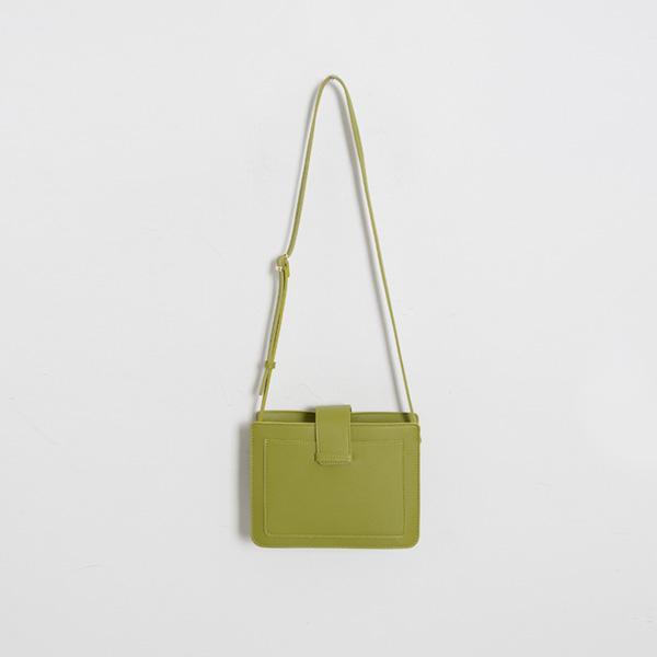 (B-1917) Square cross bag
