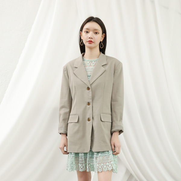 (JK-1991) Basic Uniform Jacket