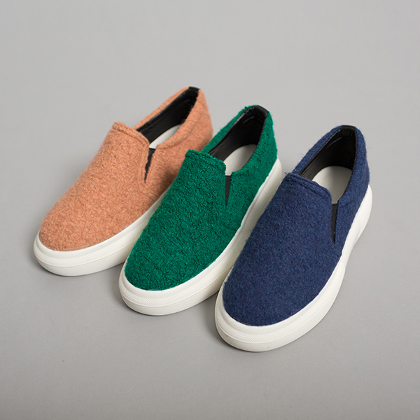 (SH-2529) Slip-on Shoes Sneakers
