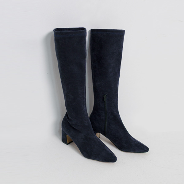 (SH-2533) Span High Suede Boots