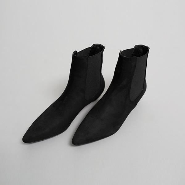 (SH-2531) Suede unique Ankle Boots