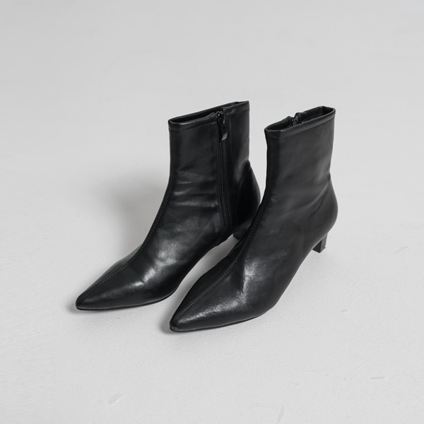 (SH-2520) Slim To Midi Boots