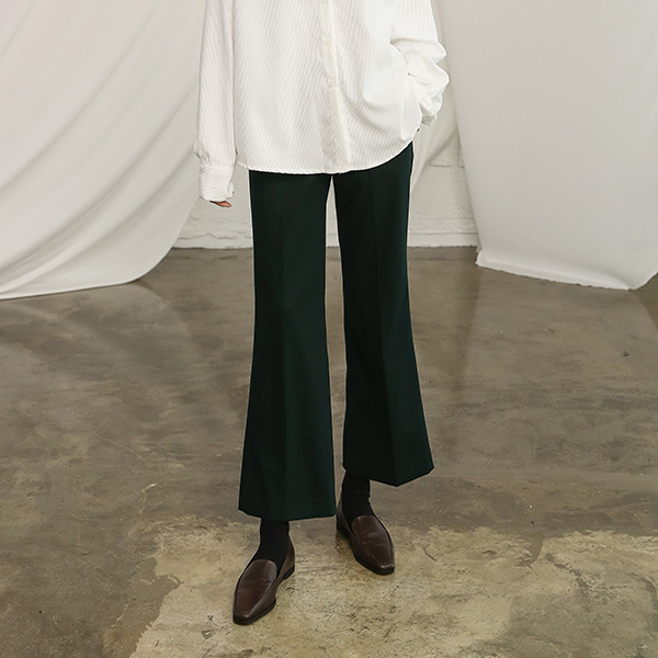 (PT-3419) Classic Boot cut Pants