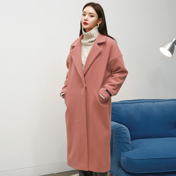 (CT-1121) Pocket Color Coat
