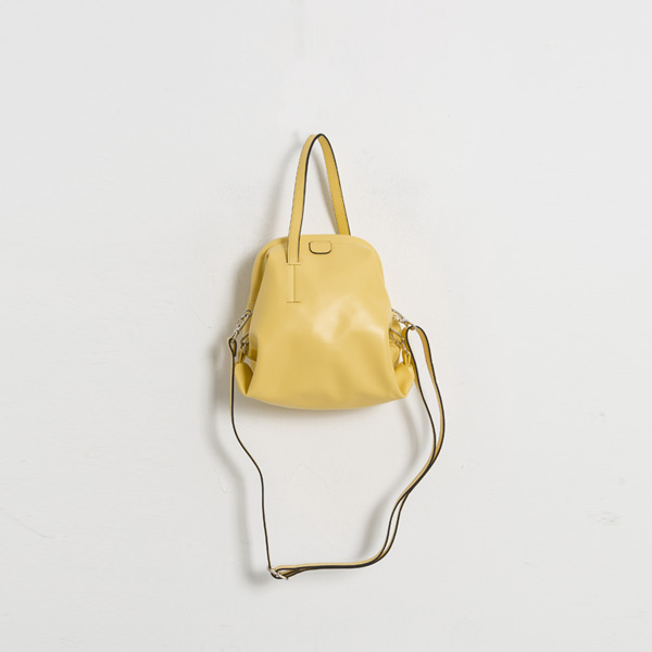 (B-1947) Color unique shape two-way Bag