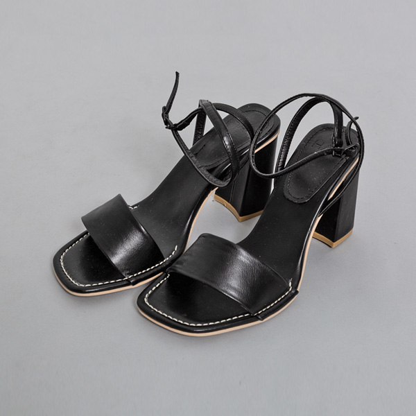 (SH-2660) stitch key point Strap Sandals