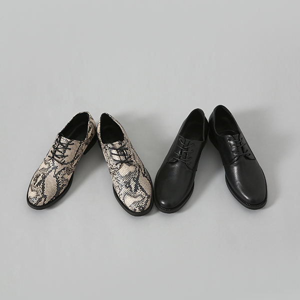 (SH-2575) Lace-up Loafers