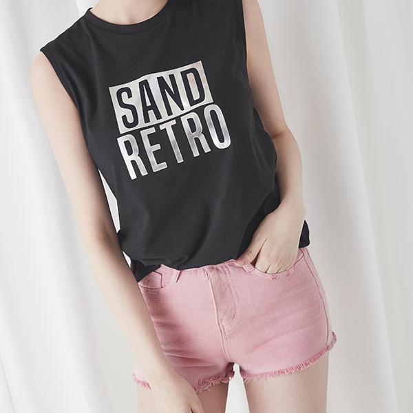 (PT-2969) Pink Denim Shorts