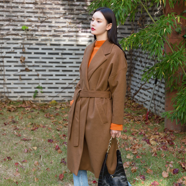 (N-CT-1115) Soft Belted CoatS