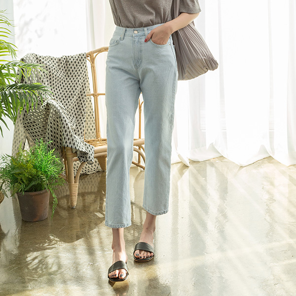 (PT-3746) Summer Color Ice Denim Pants