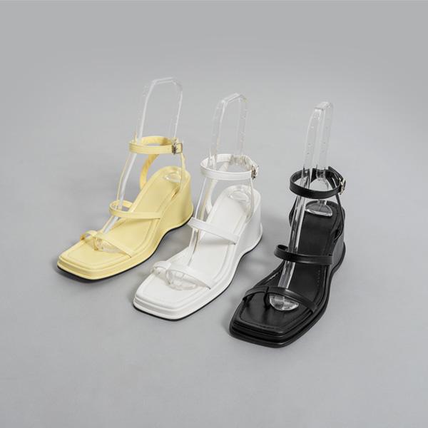 (SH-2772) Chunky Wedge heel Sandals