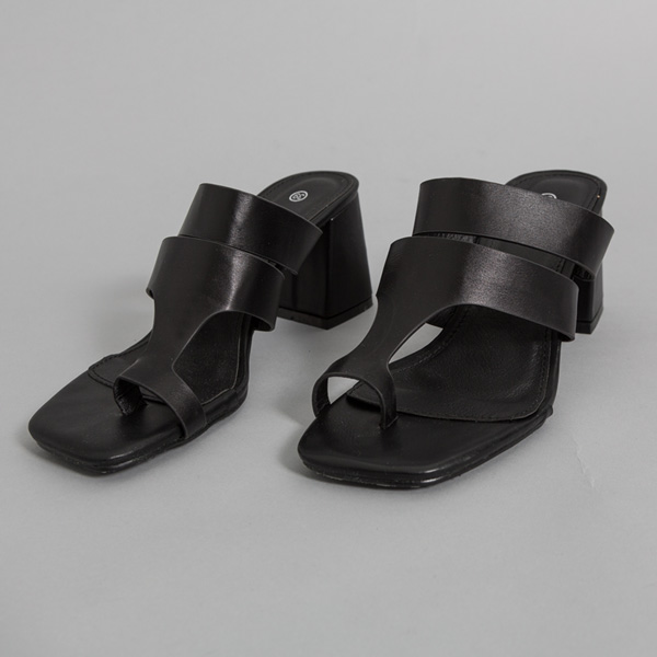 (SH-2633) One Toe Mid Hill Sandals
