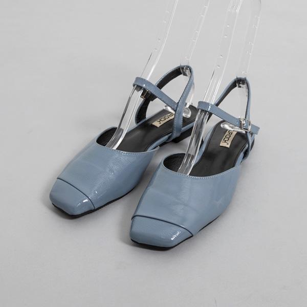(SH-2747) Strap Enamel Sandals