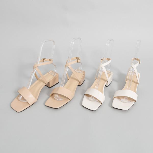 (SH-2651) minimal Strap Sandals