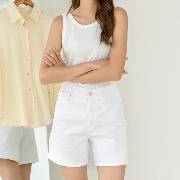 (PT-3865) Natural Color Cotton Pants