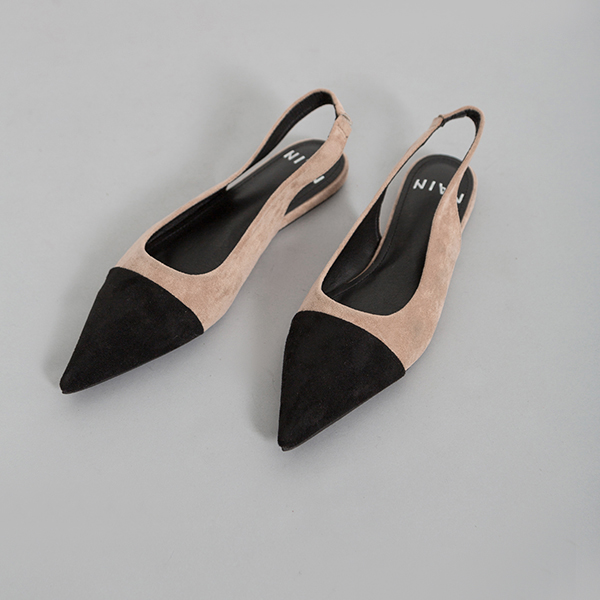 (SH-2560) Modern Color mix Sling backs