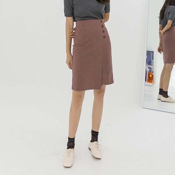 (SK-3475) Unkeyed Key Point Check Skirt