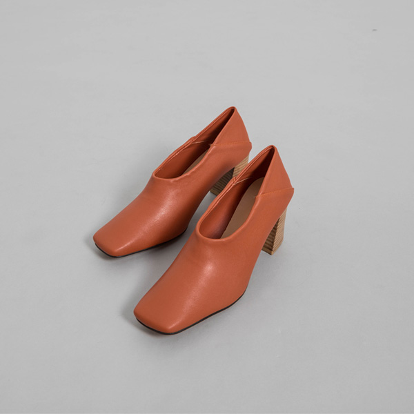 (SH-2835) Wood Two-way Pump Heel