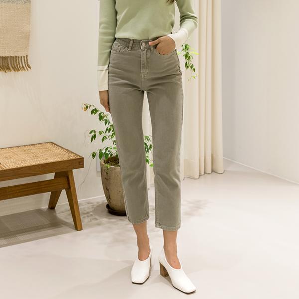 (PT-3939) Daying Vintage Color Denim Pants