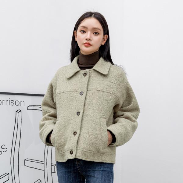 (JK-2034) Buckle Mini Jacket