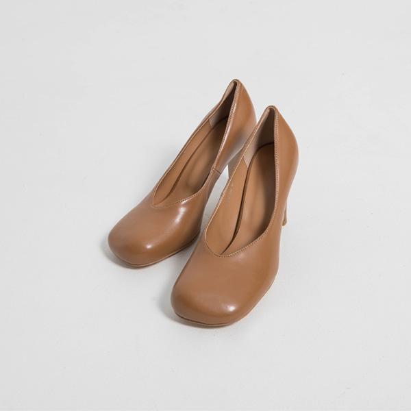 (SH-2858) Rounded Toe Pump Heel