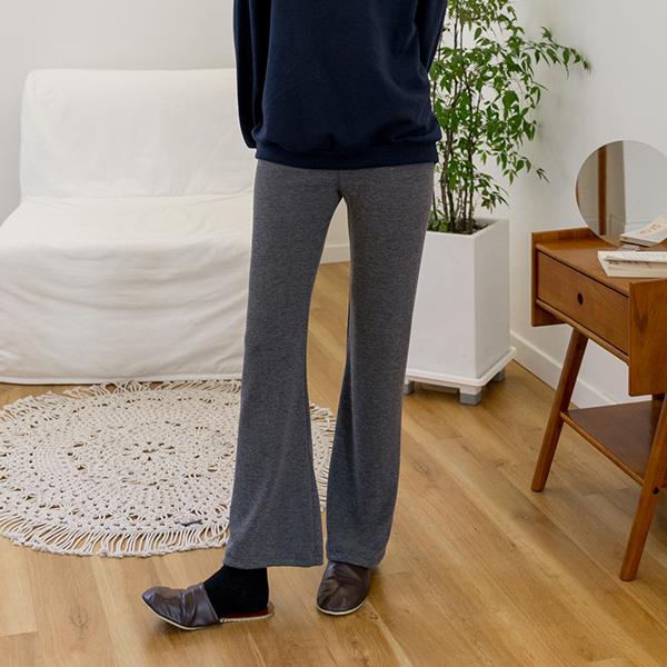 (N-PT-3974) Natural Banding Knit Pants