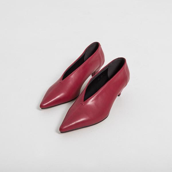 (SH-2893) unique Middle heel Stiletto Pump
