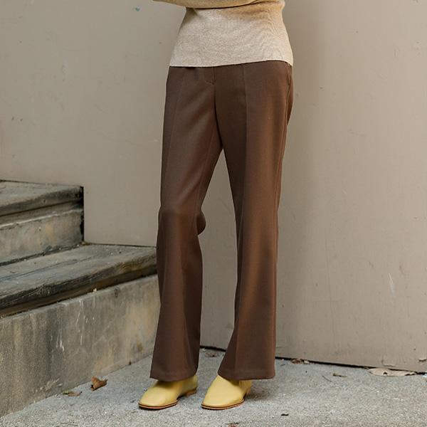 (PT-3868) Hidden Banding Slim Fit Pants