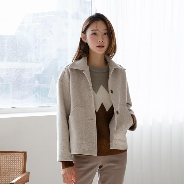 (N-JK-2120) Soft single Short Jacket