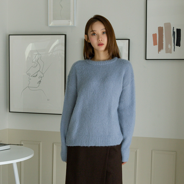 (T-5190) Wool Soft pastel Knit