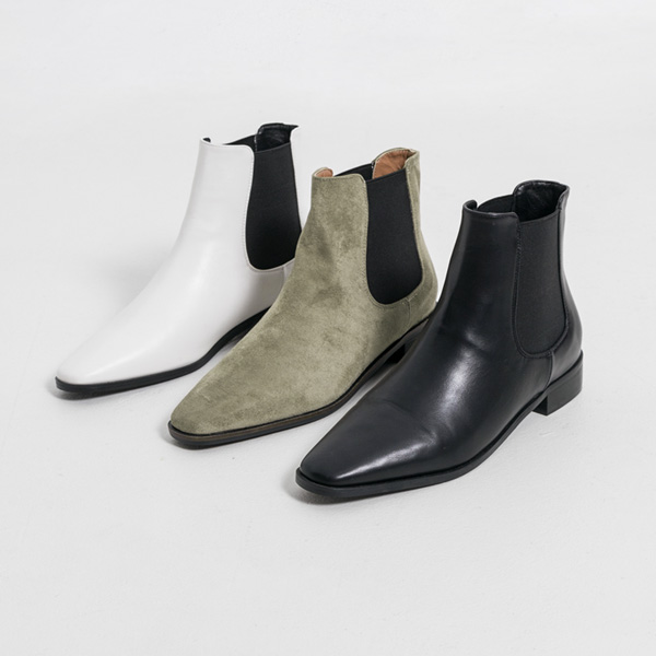 (SH-2914) Slim Basic Chelsea Boots